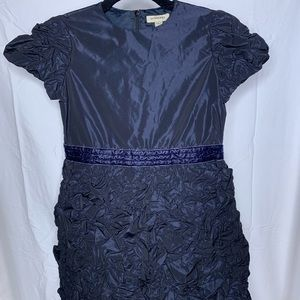 Black Burberry dress